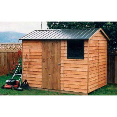 picture of pinehaven garden sheds and mower - Wooden Garden Sheds Nz