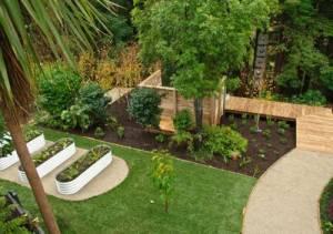 Steel garden beds