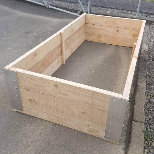 Raised Garden Beds Attractive Solid Pine Free Delivery